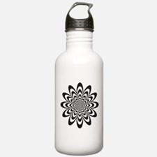 Cute Optical illusion Water Bottle
