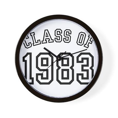 Class of 1983 Wall Clock