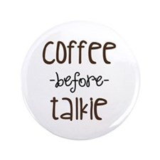 """Coffee First 3.5"""" Button"""