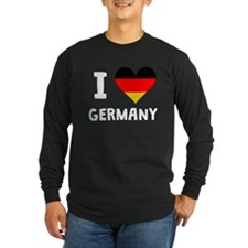 I Heart Germany Long Sleeve T-Shirt