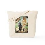Venus & Newfoundland Tote Bag