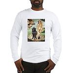 Venus & Newfoundland Long Sleeve T-Shirt