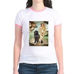 Venus & Newfoundland Jr. Ringer T-Shirt