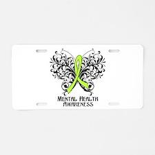 Mental Health Awareness Aluminum License Plate