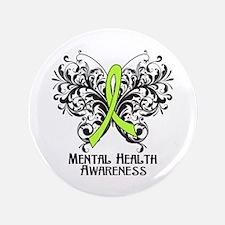 "Mental Health Awareness 3.5"" Button"