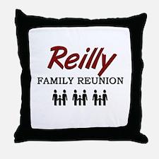 Reilly Family Reunion Throw Pillow