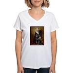 Lincoln/Newfoundland Women's V-Neck T-Shirt