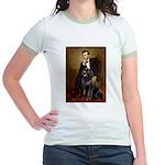Lincoln/Newfoundland Jr. Ringer T-Shirt