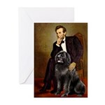 Lincoln/Newfoundland Greeting Cards (Pk of 10)