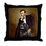 Lincoln/Newfoundland Throw Pillow
