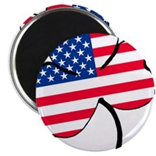 "Irish American 2.25"" Magnet (100 pack)"