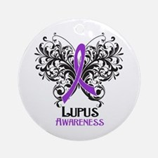 Lupus Awareness Ornament (Round)