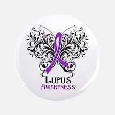 """Lupus Awareness 3.5"""" Button"""