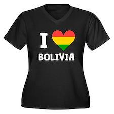 I Heart Bolivia Plus Size T-Shirt