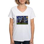 Starry / Newfound Women's V-Neck T-Shirt