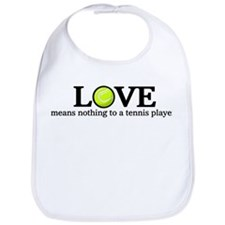 Love means nothing Bib