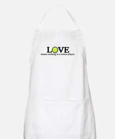 Love means nothing BBQ Apron