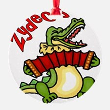 Zydeco Gator Ornament