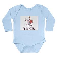 Cute Texas language Long Sleeve Infant Bodysuit