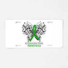 Mitochondrial Disease Awar Aluminum License Plate