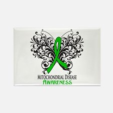 Mitochondrial Disease Awareness Rectangle Magnet