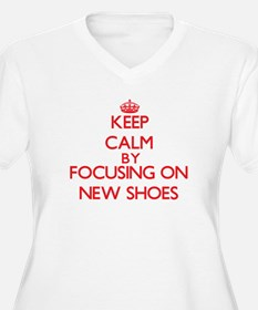 Keep Calm by focusing on New Sho Plus Size T-Shirt