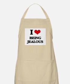 I Love Being Jealous Apron