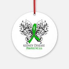 Kidney Disease Awareness Ornament (Round)