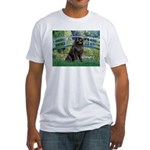 Bridge - Newfie 2 Fitted T-Shirt