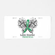 Liver Disease Awareness Aluminum License Plate