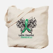 Liver Disease Awareness Tote Bag