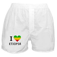 I Heart Ethiopia Boxer Shorts