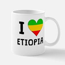I Heart Ethiopia Mugs
