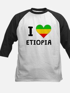 I Heart Ethiopia Baseball Jersey