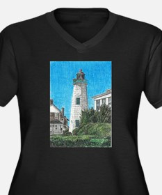 Old Point Comfort Lighthouse Plus Size T-Shirt