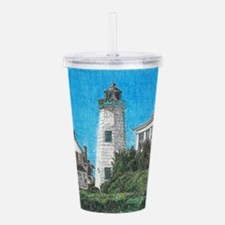 Old Point Comfort Lighthouse Acrylic Double-wall T