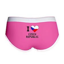I Heart Czech Republic Women's Boy Brief