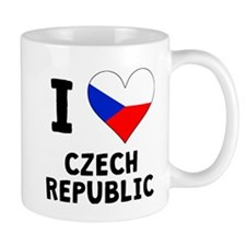 I Heart Czech Republic Mugs