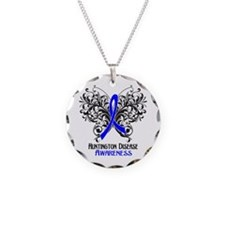 Huntington Disease Awarenes Necklace