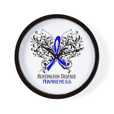 Huntington Disease Awareness Wall Clock