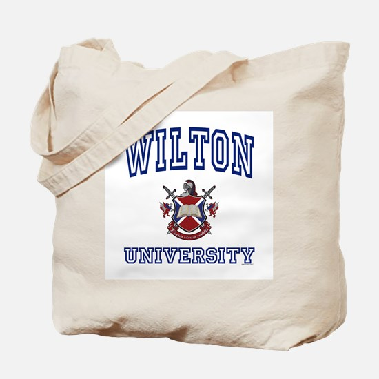 WILTON University Tote Bag