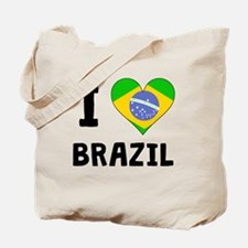 I Heart Brazil Tote Bag