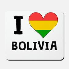 I Heart Bolivia Mousepad