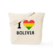 I Heart Bolivia Tote Bag
