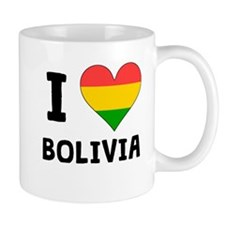 I Heart Bolivia Mugs