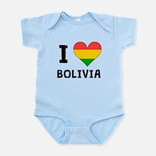 I Heart Bolivia Body Suit