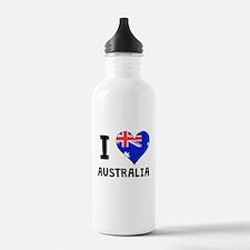 I Heart Australia Water Bottle