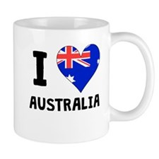 I Heart Australia Mugs