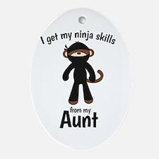 Monkey Ninja - Get Skills from my Aunt Ornament (O