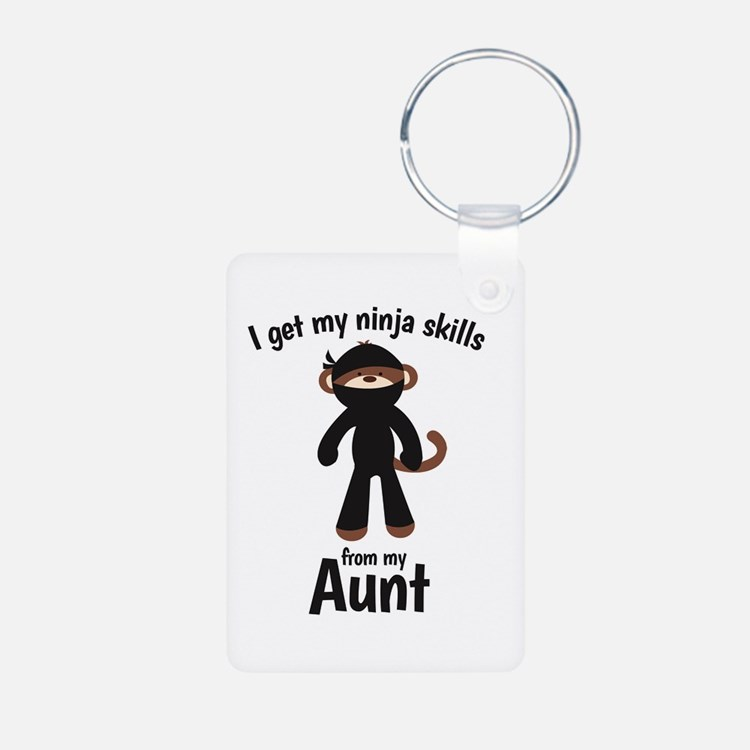 Monkey Ninja - Get Skills from my Aunt Keychains